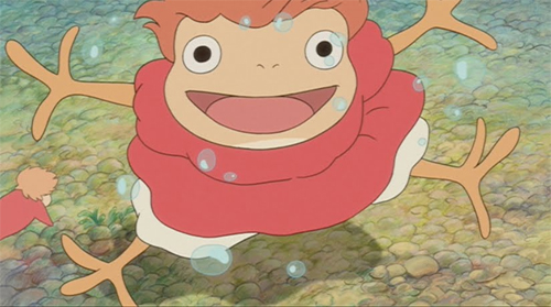 Ponyo on the Cliff by the Sea - OtakuElite Online